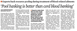 Pool Banking is Better than Cord Blood Banking