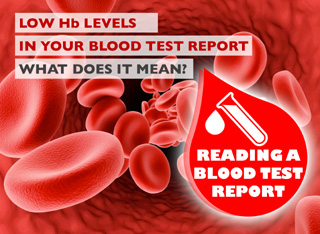 How to Read a Blood Test Report - Low Haemoglobin Levels