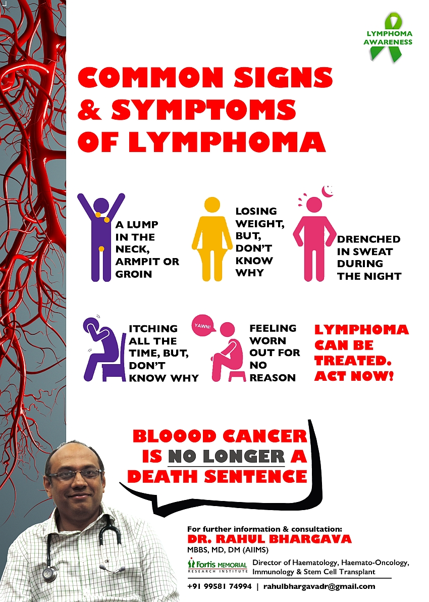 Common Signs & Symptoms Of Lymphoma - Beat Blood Cancer